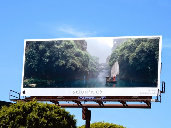 Shot on iPhone Billboard