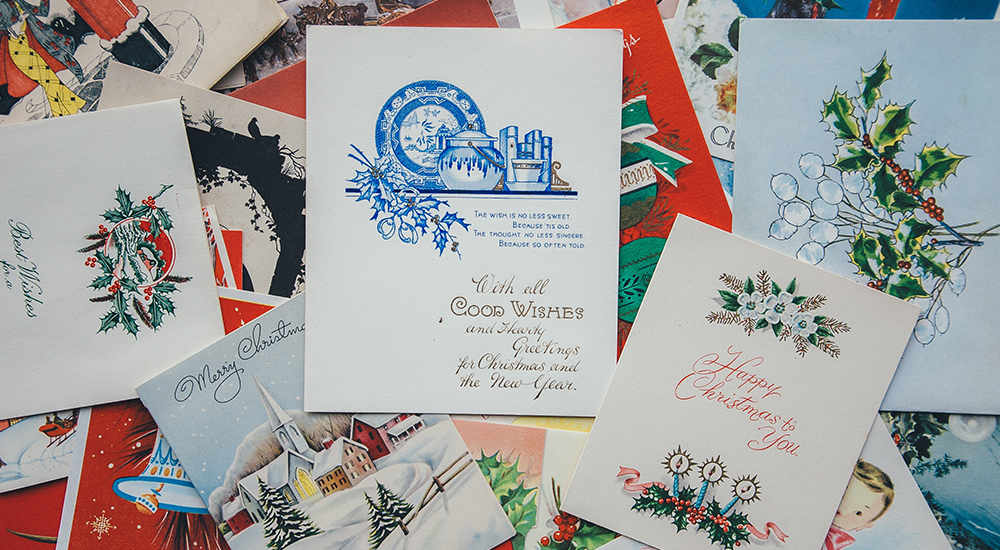 3 great reasons to send corporate christmas cards blog go media the first christmas card was created by a man named john calcott horsley in 1843 since then theyve become somewhat of a tradition during the holiday m4hsunfo