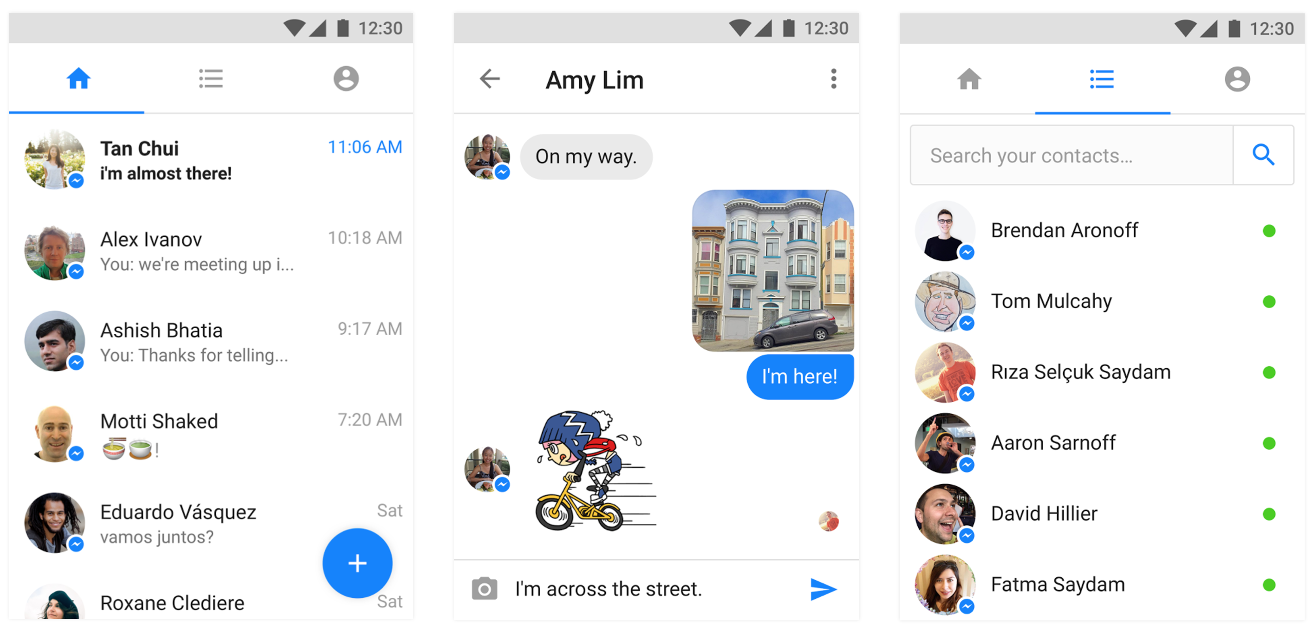 messenger-lite-screenshots